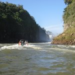 Zoom, Zoom, Zoom up the rapids to the waterfall