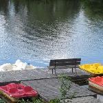 Paddle boat fun!