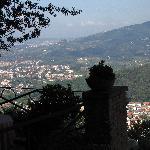 The Terrace of the Villa Gaia Montecatini Alto