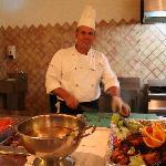Le chef cuisinier