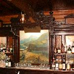 The handcarved bar