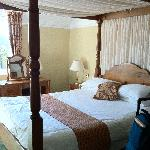 bedroom at stonecross manor