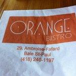 Photo of L'Orange Bistro