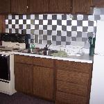 kitchen of unit