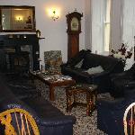 Communal lounge bar