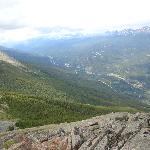 Hike 2 hrs to the top of Whistler Mt @ hostel