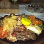 Mixed Grill at Bahamian Club