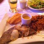 Biftec de Palomilla con Arroz y habichuela, Sabroso!!!