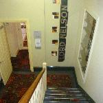 Lord Nelson Hotel: Stairs leading to Breakfast Room