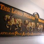 Lord Nelson Hotel: Vintage Signboard of Historic Hotel