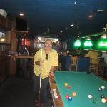 One Dollar a game Pool Table