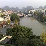 View over Peach Blossom River