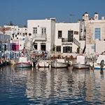 Hafen von Naoussa Paros