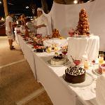 Un somptueux buffet de dessert