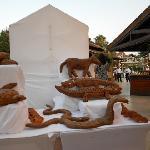 Des pains en forme d'oeuvre d'art