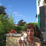 Little balcony - breakfast