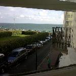 sea view from room 5