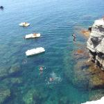 Cliff Diving St. Angelo