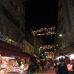 il mercato di sera