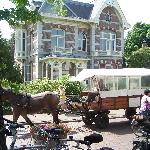 From the terrace at Hotel de Zwaan, Delden