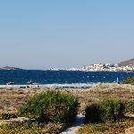 La plage privée de Villa Marandi