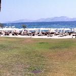 la spiaggia dell'hydra beach