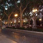 the Rambla in Figueres