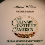 Chef Michael Obois Graduation from The Culinary School of America