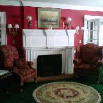 The lounge as you come in