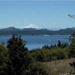 Spectacular views of Mt. Baker, the Gulf Islands and the Pacific.