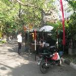 Security at Front entrance at Kumala Pantai
