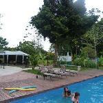 une des deux belles piscines