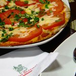 Pizza Margherita - delicious in its simplicity.