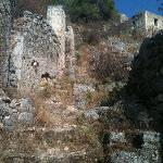 Ruins above Farsa - there are many also up the hill above Faraklata, but I didn't take photos th