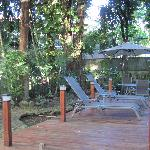 Baru Lodge - backyard
