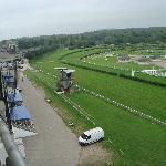 schöner Ausblick auf Pferderennbahn!!