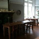Lovely big dining room for breakfast.