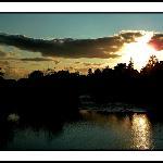 Sunset beim Killarney View House