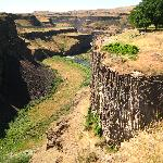 Part of the canyon