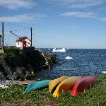 Kayak launch and paddle among the bergs (taken July 2011)