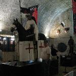 Knights Templar built the castle