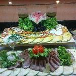 Buffet in extra Restaurant
