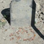 Pennies on Paul Revere's grave