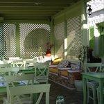 Absinthe Restaurant, Lounge Corner