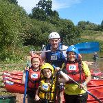 After our 'Raft Building' challange!!