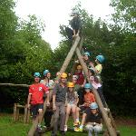 Our team, after 'Challange Course'