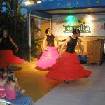 night entertainment at the terralta