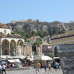 Monistiraki Square and Metro stations very close by