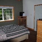 Privatzimmer in einem der kleinen Häuschen