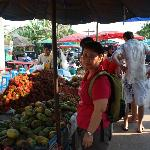 local market 10 minutes walk from the resort